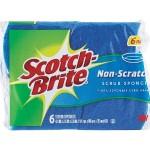 Multi-purpose Scrub Sponge (6-pack)