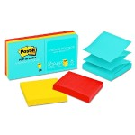 "Pop-up Notes 3"" x 3"" Jaipur Collection - 6 Pads/Pack, 90 Sheets/Pad"
