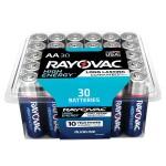 High Energy AA 30-Pack Alkaline Batteries