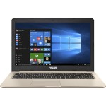 "VivoBook Pro 15 N580VD DB74T - Core i7 7700HQ / 2.8 GHz - Win 10 Home 64-bit - 16 GB RAM - 512 GB SSD - 15.6"" 1920 x 1080 (Full HD) - NVIDIA GeForce GTX 1050 - 802.11ac, Bluetooth - gold and metal with hairline finish"