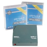 Tape Media for LTO4-120 Tape Drive, 800GB/1.6TB, 5-Pack Customer Kit