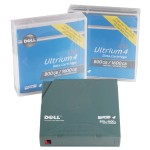 Tape Media for LTO4 - 120 Tape Drive, 800GB/1.6TB, 1-Pack Customer Kit