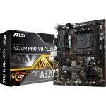 A320M PRO-VH PLUS AMD Ryzen AM4 A320 Max 32GB PCI Express SATA VGA/HDMI micro-ATX Motherboard