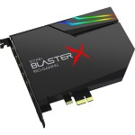 Sound BlasterX AE-5 Sound Card and DAC with RGB Aurora Lighting