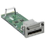Catalyst 9300 Series Network Module - Expansion module - Gigabit SFP x 4 - for Catalyst 9300
