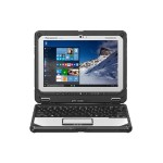 "Toughbook 20 - Tablet - with keyboard dock - Core m5 6Y57 / 1.1 GHz, 16GB RAM, 256GB SSD, 10.1"" IPS Touchscreen 1920 x 1200 - HD Graphics 515 - Wi-Fi, Bluetooth - 4G - Rugged - with Toughbook Preferred, Windows 10 Pro"