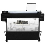 DesignJet T520 36-in Printer - Print, 2400x1200 dpi, 4 ink system, 35 sec/page on A1/D, 70 A1/D prints per hour, 1GB Memory, Hi-Speed USB 2.0 certified, Wi-Fi