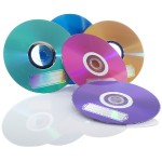 CD-R 700MB 52X with Color Branded Surface - 10pk Bulk Box, Assorted