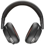 Voyager 8200 UC Stereo Bluetooth Headset with Active Noise Canceling - Black