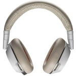 Voyager 8200 UC Stereo Bluetooth Headset with Active Noise Canceling - White