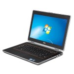 "E6420 Intel Core i5-2520M Dual-Core 2.5GHz Notebook PC - 8GB DDR3, 128GB SSD, 14"" HD Anti-Glare WXGA, Gigabit Ethernet, 802.11 a/b/g/n ac, Bluetooth 3.0, Docking Connector, USB 3.0, HDMI, VGA, Card Reader, DVD, 9-cell Lithium-Ion, Black - Refurbished"