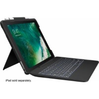 "Logitech Slim Combo Keyboard Folio Case for Apple 10.5"" iPad Pro - Black 920-008420"