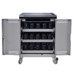 VR30 Device Cart with Power Switch and In-Line Outlets