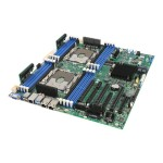 Server Board S2600STB - Motherboard - SSI EEB - Socket P - 2 CPUs supported - C624 - USB 3.0 - 2 x 10 Gigabit LAN - onboard graphics