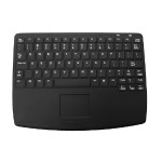 CK82S Medical Grade Wired Keyboard with Center Touchpad - Black, USB