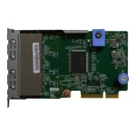ThinkSystem - Network adapter - LAN-on-motherboard (LOM) - Gigabit Ethernet x 4 - for ThinkSystem SR630; SR650; SR850; SR860; SR950