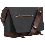 Aerio Messenger Bag - Charcoal Black