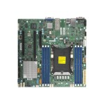 SUPERMICRO X11SPM-TF - Motherboard - micro ATX - Socket P - C622 - USB 3.0 - 2 x 10 Gigabit LAN - onboard graphics