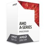A10-Series APU 7th Gen A10-9700 - 10 Compute Cores (4 CPU + 6 GPU), 3.5GHz, AM4 Socket, 2MB Cache, Radeon R7 Series Graphics, 65W - CPU Cooler included