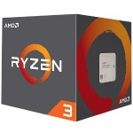 Ryzen 3 1300X 4-core/4-thread, 65W, Socket AM4, 10MB Cache, 3700MHz with AMD Wraith Stealth Cooler