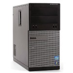 OptiPlex 3010 Intel Core i5-3470 Quad-Core 3.20GHz Tower Desktop - 8GB DDR3, 1TB Hard Drive, DVD, Microsoft Windows 10 Pro 64-Bit - Refurbished