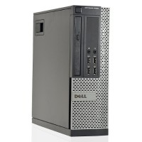 Dell OptiPlex 9020 Intel Core i5-4590 Quad-Core 3.3GHz Small Form Factor Desktop - 8GB RAM, 500GB HDD, 10/100/1000 Ethernet, DVD+/-RW, USB Keyboard and Mouse - Refurbished PC1-0774