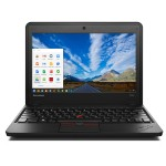 "ThinkPad X131e Chromebook 628323U - Midnight Black, 11.6"" 1366x768 Display. Intel Celeron 1007U Processor(1.5GHz 2MB), 4GB RAM PC3-12800, Google Chrome OS, 16GB SSD, ThinkPad 11b/g/n Wi-Fi wireless, 1 x HDMI 1.4 out, Camera: 1x720p HD Camera - Refurbished"