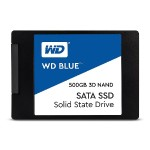 Blue 3D NAND SATA SSD 500GB 2.5 Inch 7mm