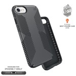 Presidio Grip iPhone 7 Cases - Graphite Grey/Charcoal Grey