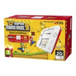 2DS - New Super Mario Bros. 2 Special Edition - handheld game console - white, red - New Super Mario Bros 2
