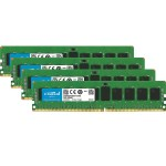 DDR4 - 32 GB: 4 x 8 GB - DIMM 288-pin - 2666 MHz / PC4-21300 - CL19 - 1.2 V - registered - ECC