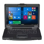 "Toughbook 54 - Semi-Rugged Laptop - Intel Core i7-6600U 2.6 Ghz, 8GB RAM, 256GB SSD, DVDRW, Wi-Fi, Bluetooth, Intel HD Graphics 52, 14"" FHD gloved multi touch (1000 nit), Windows 7 Professional 64-bit downgrade from Windows 10"