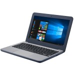 "VivoBook W202NA YS02 - Celeron N3350 - Windows 10 S - 4 GB RAM - 64 GB eMMC - 11.6"" 1366 x 768 (HD) - HD Graphics 500 - Wi-Fi, Bluetooth - dark blue"