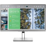 EliteDisplay E243 Monitor - 23.8-inch IPS Micro Edge LED Backlit 1920x1080 @60Hz Full HD Display, 250 cd/m², 1000:1, 5ms, 178°/178° Viewing Angle - VGA, HDMI, DisplayPort - Smart Buy