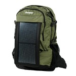 PowerKeep Wanderer - Green - Includes backpack, PK10K power bank, solar panel and micro-USB cable