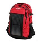 PowerKeep Wanderer - Red - Includes backpack, PK10K power bank, solar panel and micro-USB cable