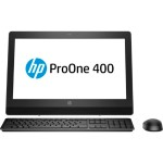 "ProOne 400 G3 - All-in-one - 1 x Core i5 7500T / 2.7 GHz - RAM 4 GB - HDD 500 GB - DVD-Writer - HD Graphics 630 - GigE - WLAN: 802.11a/b/g/n/ac, Bluetooth 4.2 - Win 10 Pro 64-bit - monitor: LED 20"" 1600 x 900 (HD+) - keyboard: US"
