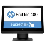 "ProOne 400 G3 - All-in-one - 1 x Core i5 7500T / 2.7 GHz - RAM 4 GB - HDD 500 GB - DVD-Writer - HD Graphics 630 - GigE - WLAN: 802.11a/b/g/n/ac, Bluetooth 4.2 - Win 10 Pro 64-bit - monitor: LED 20"" 1600 x 900 (HD+) touchscreen - keyboard: US - promo"