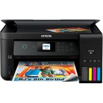 Expression ET-2750 EcoTank All-in-One - Multifunction printer - color - ink-jet - 8.5 in x 11.7 in (original) - A4/Legal (media) - up to 7.7 ppm (copying) - up to 10.5 ppm (printing) - 100 sheets - USB 2.0, Wi-Fi(n)