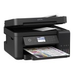 WorkForce ET-3750 EcoTank All-in-One - Multifunction printer - color - ink-jet - 11.7 in x 14 in (original) - A3/Ledger (media) - up to 11 ppm (copying) - up to 15 ppm (printing) - 150 sheets - USB 2.0, LAN, Wi-Fi(n)