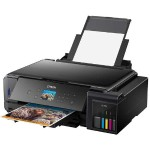 Expression Premium ET-7750 EcoTank All-in-One - Multifunction printer - color - ink-jet - 8.5 in x 11.7 in (original) - A3/Ledger (media) - up to 10 ppm (copying) - up to 13 ppm (printing) - 100 sheets - USB 2.0, LAN, Wi-Fi(n), USB host