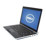 "Latitude E6220 12.5"" Gunmetal Gray Laptop - Intel Core i5 2520M 2nd Gen 2.5GHz / 4GB SODIMM DDR3 / SATA 2.5"" 500GB HDD / Windows 10 Pro 64-Bit - Refurbished"