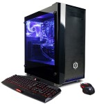 Gamer Master GMA5800PCM w/ AMD Ryzen 3 1300X 3.5GHz CPU, 8GB DDR4, 2TB HDD, AMD RX 550 2GB, 24X DVD±RW, 7 Colors Gaming Keyboard, Gaming Mouse, 802.11AC WiFi & Win 10 Home 64-Bit