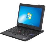 "ThinkPad X200t Intel Core 2 Duo SL9400 Dual-Core 1.86GHz Tablet PC - 4GB SODIMM DDR3, SATA 2.5"" 120GB HDD, 12.1"" Display, Touchscreen, Windows 7 Professional 64-Bit - Refurbished"