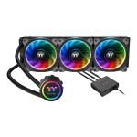 Floe Riing RGB 360 TT Premium Edition - Liquid cooling system CPU water block - (for: LGA1156, AM2, AM2+, LGA1366, AM3, LGA1155, AM3+, LGA2011, FM1, FM2, LGA1150, LGA2011-3, LGA1151, AM4, LGA2066) - copper - 120 mm