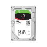 """IronWolf ST6000VN0033 - Hard drive - 6 TB - internal - 3.5"""" - SATA 6Gb/s - 7200 rpm - buffer: 256 MB"""