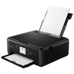 PIXMA TS6120 - Multifunction printer - color - ink-jet - 8.5 in x 11.7 in (original) - Legal (media) - up to 15 ipm (printing) - 200 sheets - USB 2.0, Bluetooth, Wi-Fi(n) - black with  InstantExchange