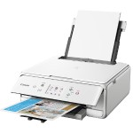 PIXMA TS6120 - Multifunction printer - color - ink-jet - 8.5 in x 11.7 in (original) - Legal (media) - up to 15 ipm (printing) - 200 sheets - USB 2.0, Bluetooth, Wi-Fi(n) - white with  InstantExchange