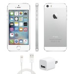 16GB Apple iPhone 5s Silver - AT&T, Refurbished