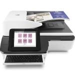 ScanJet Enterprise Flow N9120 fn2 Document Scanner - up to 120 ppm/240 ipm, 600dpi x 600dpi; Flatbed, ADF (200 sheets), XGA 1024x768 LCD display, 10/100/1000 Ethernet, USB Host